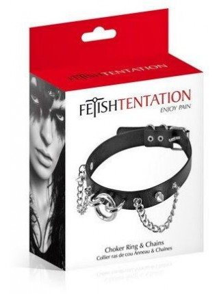 Чокер Fetish Tentation Rings and Chains