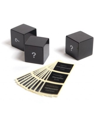 Кубики для эротической игры LUCKY LOVE DICE от Bijoux Indiscrets (Испания)
