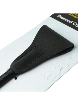 Шлепалка Sportsheets Crystal Crop Diamond, ручка инкрустирована прозрачными кристаллами