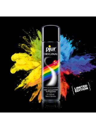 Универсальная смазка на силиконовой основе pjur Original 100 мл Rainbow Edition