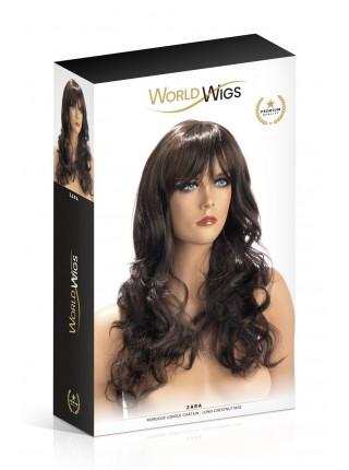 Парик World Wigs ZARA LONG CHESTNUT