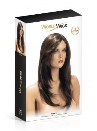 Парик World Wigs OLIVIA LONG CHESTNUT