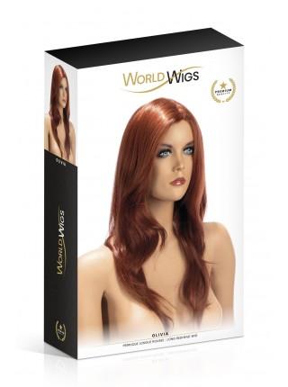 Парик World Wigs OLIVIA LONG REDHEAD
