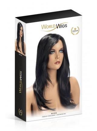 Парик World Wigs OLIVIA LONG BROWN