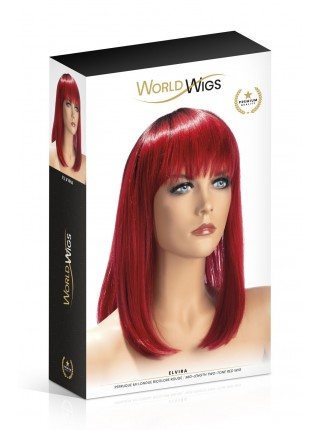 Парик World Wigs ELVIRA MID-LENGTH TWO-TONE RED