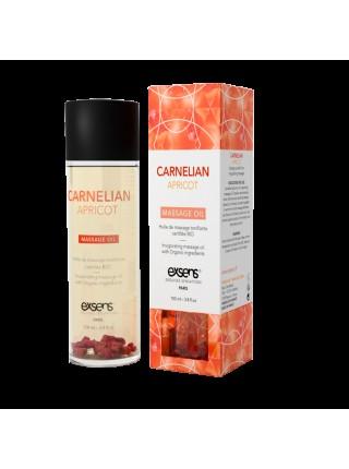 Массажное масло EXSENS Carnelian Apricot (бодрящее с сердоликом) 100мл