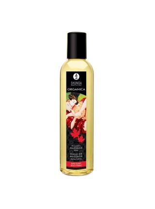 Органическое массажное масло Shunga ORGANICA - Maple Delight (250 мл) с витамином Е