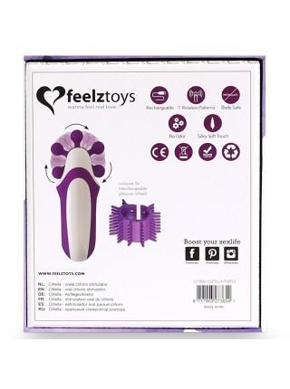 Стимулятор с имитацией оральных ласк FeelzToys - Clitella Oral Clitoral Stimulator Purple