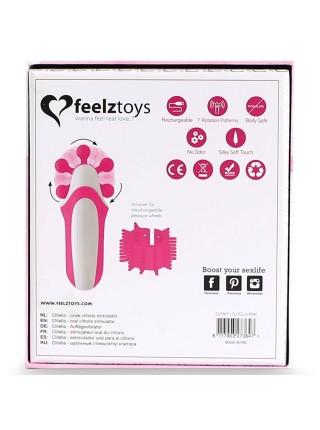 Стимулятор с имитацией оральных ласк FeelzToys - Clitella Oral Clitoral Stimulator Pink