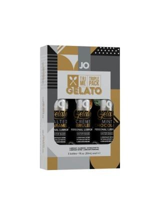 Подарочный набор System JO Limited Edition Tri-Me Triple Pack - Gelato (3 х 30 мл)