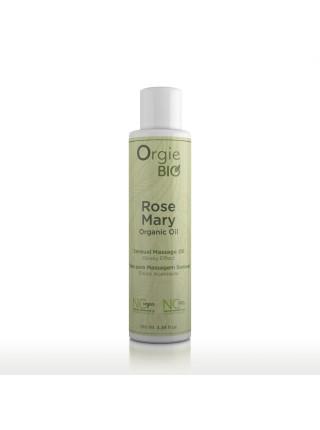 Органическое массажное масло с маслом розмарина ROSE MARY 100 мл ORGIE BIO 51515 ORGIE BIO