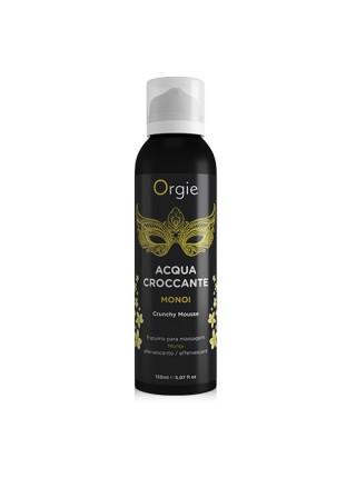 Шипучая увлажняющая пенка для массажа Acqua Crocante Аромат: Моной с Таити  ORGIE 51546 Orgie